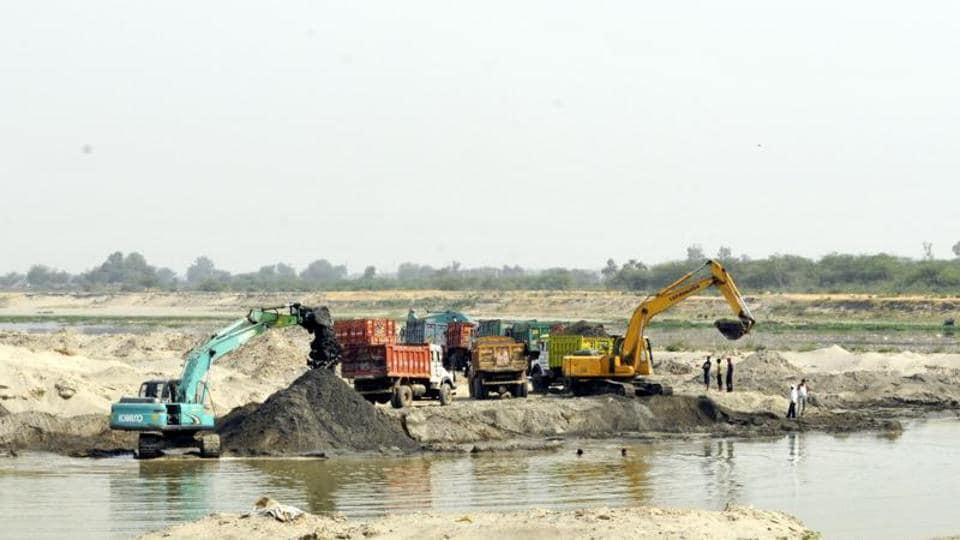 Illegal mining from the Ganga river bed is rampant in Uttarakhand with police alleging that politicians own major stakes in them.