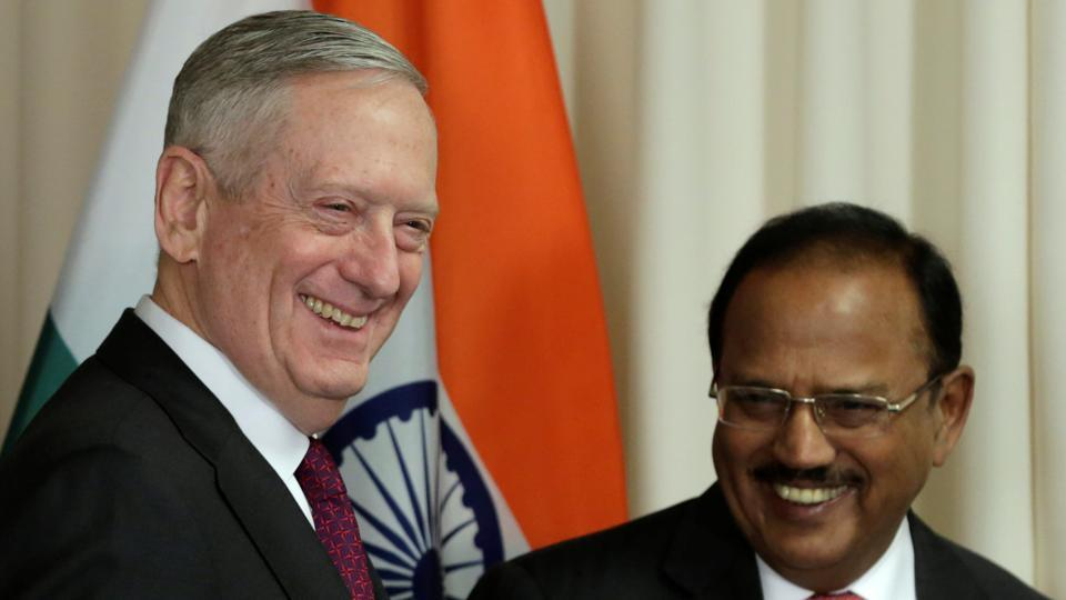 Image result for mattis in India, photos