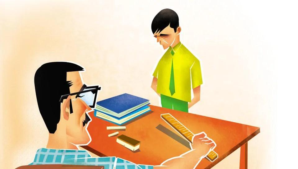 Teacher Ruler Discipline