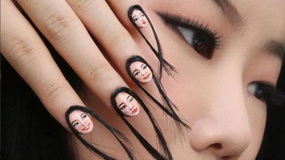 Selfie Nail Art Is The Latest Trend On Block