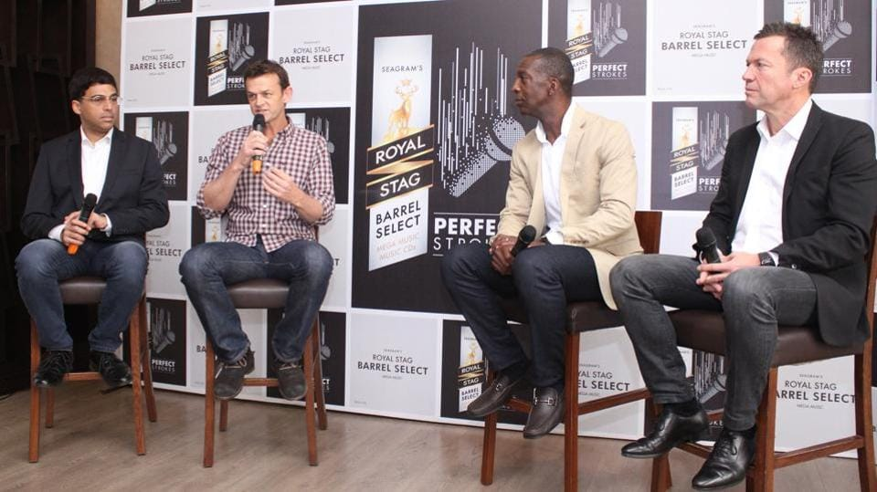 The Four Renowned Sports Personalities Spoke To The Media On A Number Of Topics