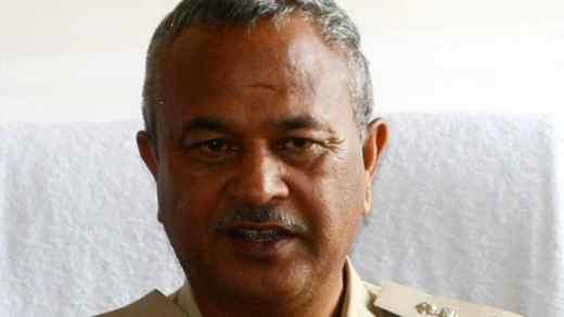 Former Shimla superintendent of police DW Negi.