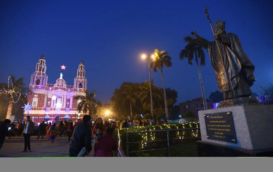 Image result for 25 december christmas day in delhi