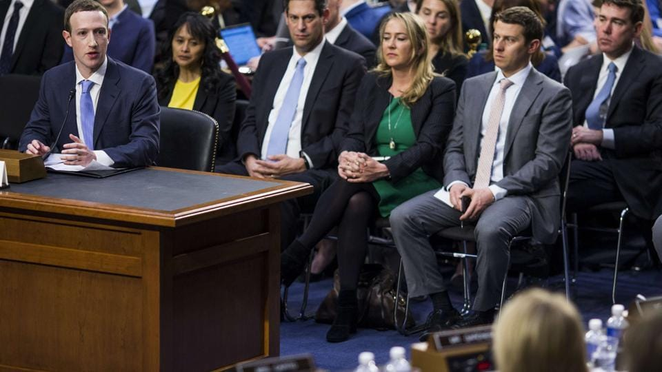 That was pretty good Mark Zuckerberg as he gets grilled