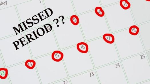 Image result for Missed Period