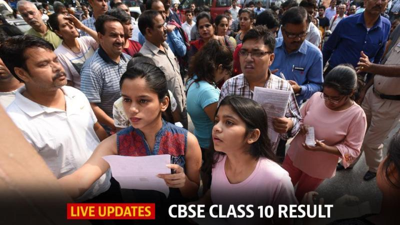 CBSE 10th result 2018: A total of 16,38,420 candidates registered for the Class 10 exam conducted at 4,453 centres across India and 78 centres abroad.