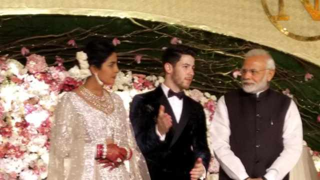 Image result for priyanka chopra wedding reception