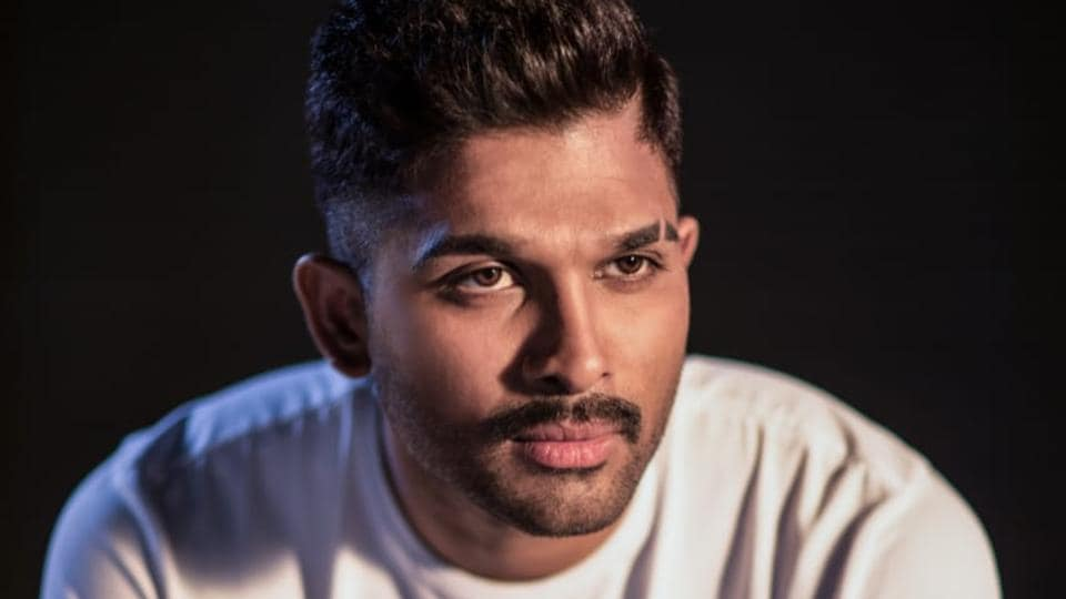 allu arjun announces next