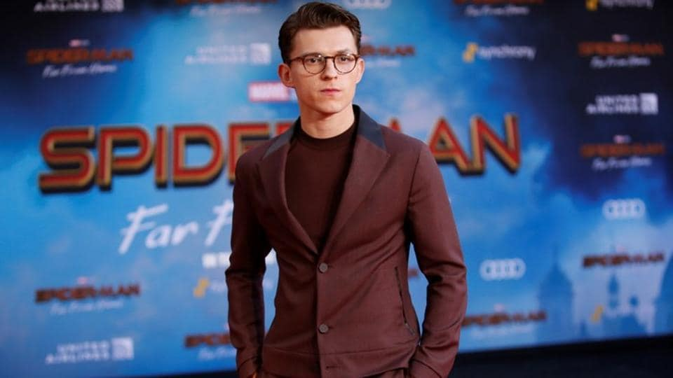 tom holland on spider