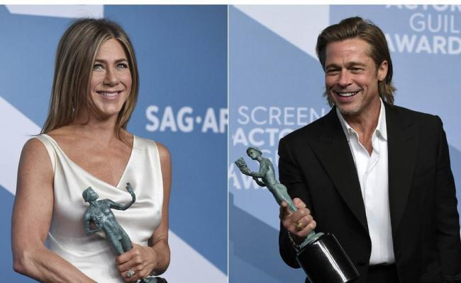 Did Brad Pitt Take A Dig At Angelina Jolie In Sag Awards