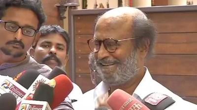 Rajinikanth Denies To Apologize For His Remakrs On Ramasamy Periyar