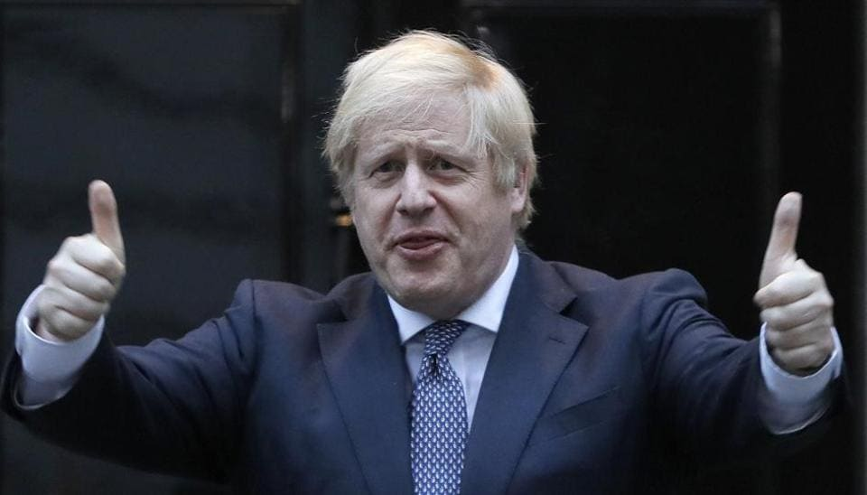 Doctors Prepared to Announce, Says Britain's PM Boris Johnson
