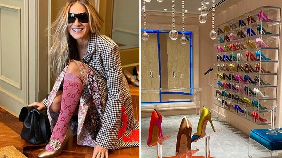 Masked Sarah Jessica Parker channels inner Carrie Bradshaw to help fans shop for shoes amid Covid-19 – fashion and trends