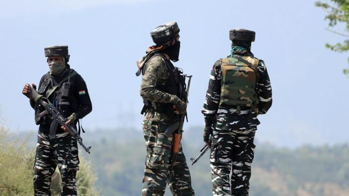 Police officials said that the encounter started at around 1am on Saturday in Pulwama's Zadoora area.