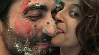 Tahira Kashyap eats cake off 'soulmate' Ayushmann Khurrana's face in special birthday picture. See here
