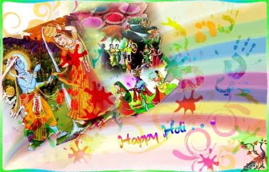 Free Holi Wallpapers
