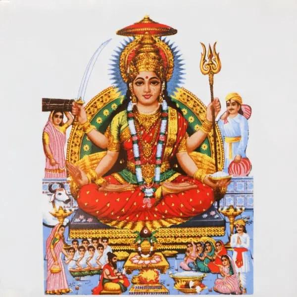 Goddess Parvati Story