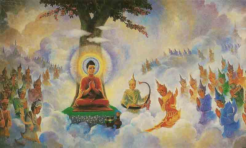 the buddhist heavens and