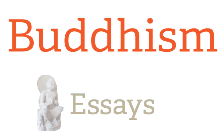 buddhism essays Buddhism arose in northern india in the 6th century bce the historical founder  of buddhism, siddharta gautama (c560-480 bce) was born in a village called.