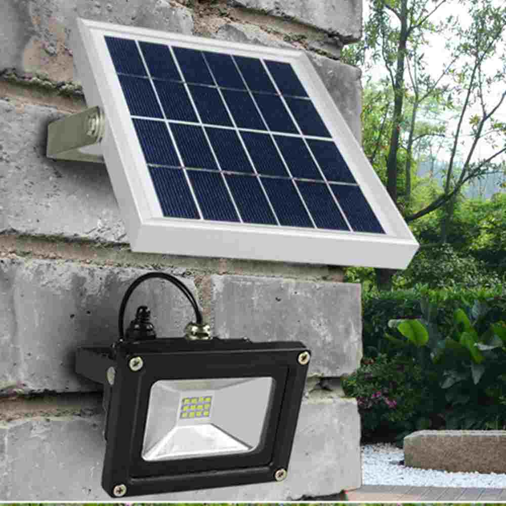Outdoor Best Security Solar Powered LED Flood Lights  Hinergy