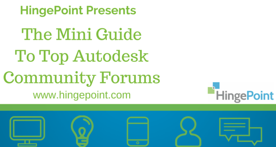 Guide To Autodesk Community Forums for AEC Industry