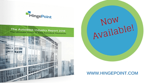 Autodesk Industry Report Released as Free E-Book By HingePoint