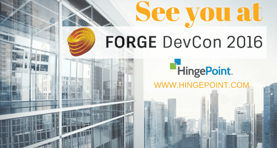Join us at Forge DevCon, Autodesk's Inaugural Cloud Platform Developer Conference
