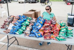 2016 Collins Bike Rally - Snack Table