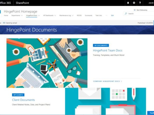Top 4 Reasons to use SharePoint as a Document Management System