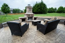 Stamped Concrete Kansas City Patios Hardscaping Fire Pits