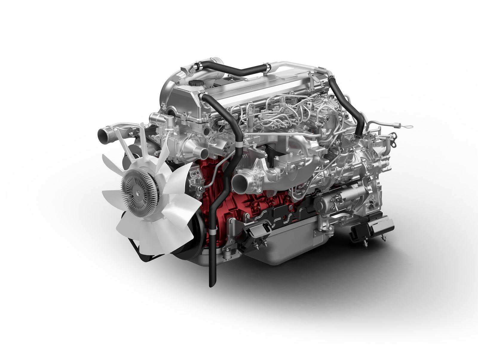 hight resolution of hino j08e six cylinder diesel