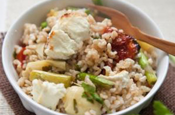 an image of Mediterranean Brown Rice bake