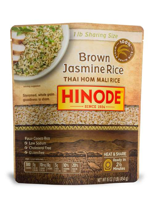 2 1/2 Minute Sharing Size Rice Pouches - Microwavable Brown Rice