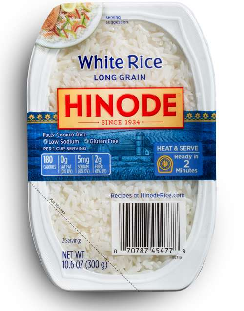 2 minute rice trays microwavable white