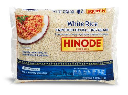 Enriched Extra Long Grain White Rice
