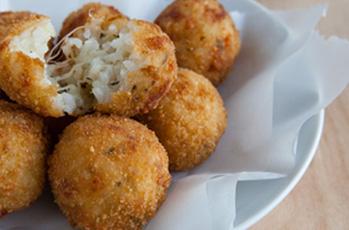 image of gluten free rice balls