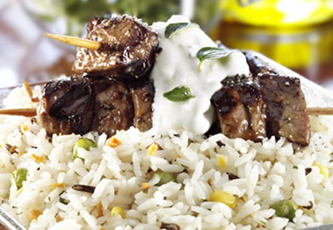 Greek Lamb Skewers