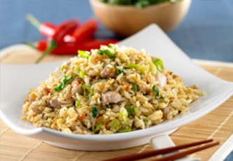 Hinode rice: Easy Chicken and Vegetable Fried Rice Recipe