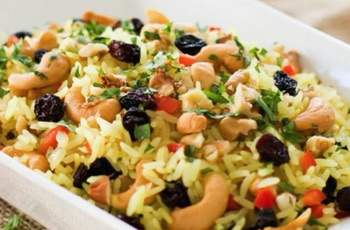 12 days of christmas rice recipes hinode rice christmas rice with nuts and dried fruit that is vegan and gluten free forumfinder Images