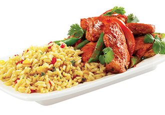 Hinode Rice: tandoori chicken