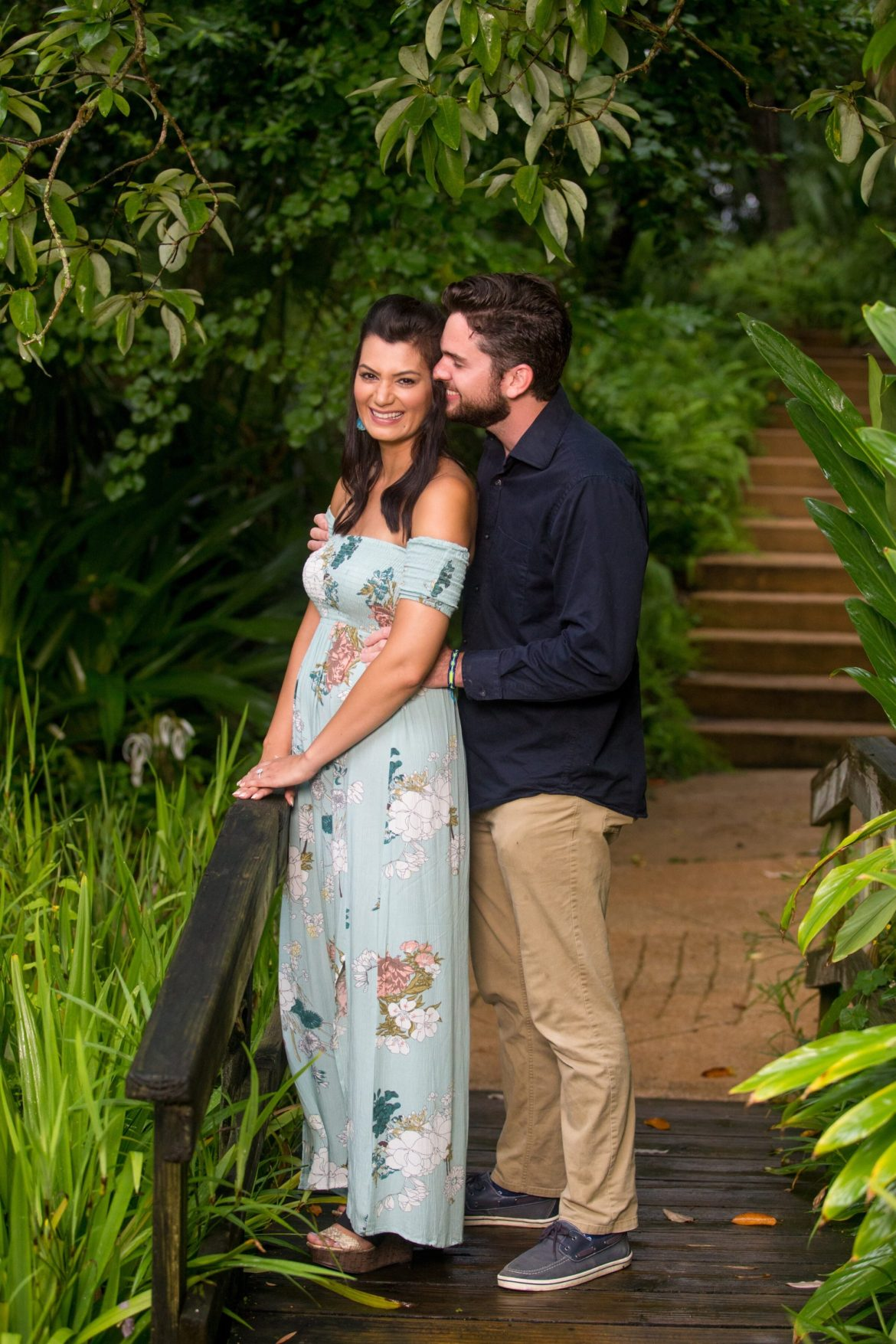Ormond Beach wedding photographer captures proposal portrait
