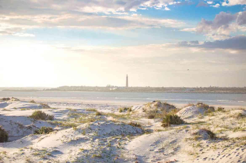 Smyrna Dunes Park in New Smyrna Beach, FL and Pone Deleon Lighthouse