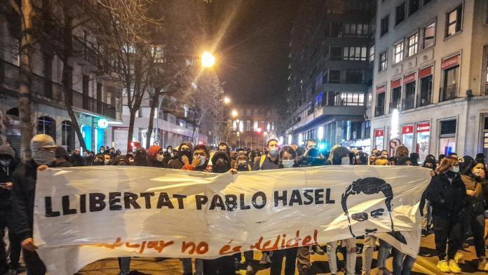 Pablo Hasél España