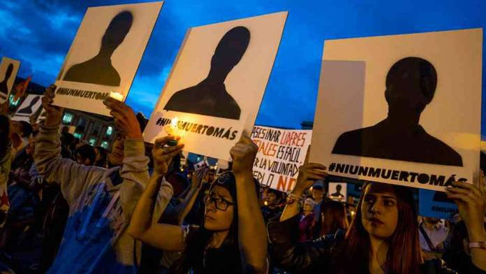 Asesinatos selectivos colombia