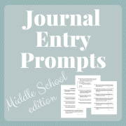 If you're an educator or tutor, check the Hint of Jam Teacher Resources page often to see worksheets, journal prompts, and project ideas.
