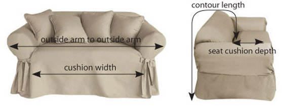 fabric for sofa covers uk small sofas loveseats tips on making your own slipcovers planning measuring and how to measure dimensions of armchairs