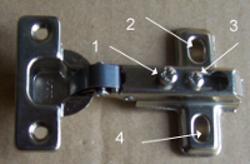 kitchen door hinges small buffet how to adjust cupboard cabinet hinge adjustment screws