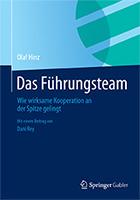 """Buchcover """"Das Führungsteam"""""""