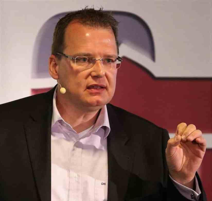 Olaf Hinz als Redner