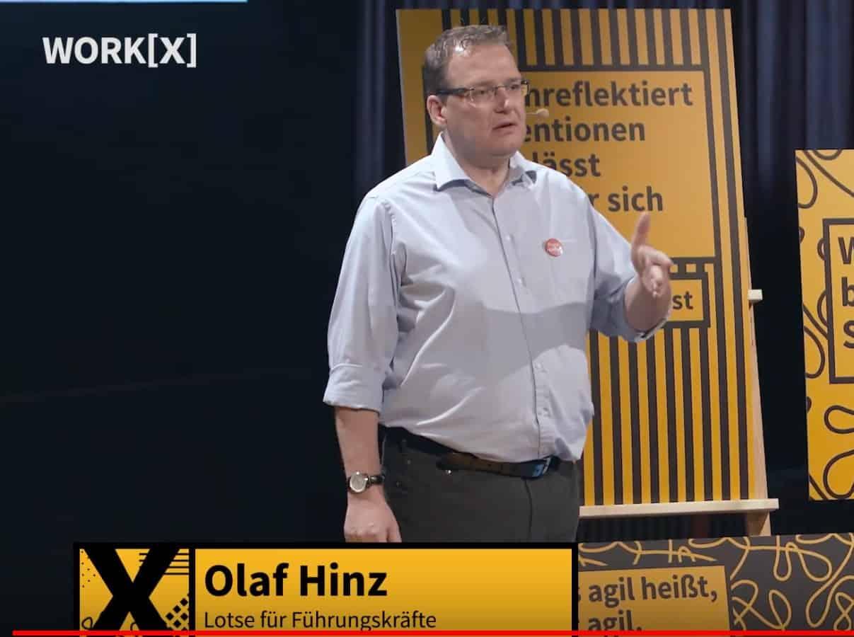 Olaf Hinz beim workX Festival
